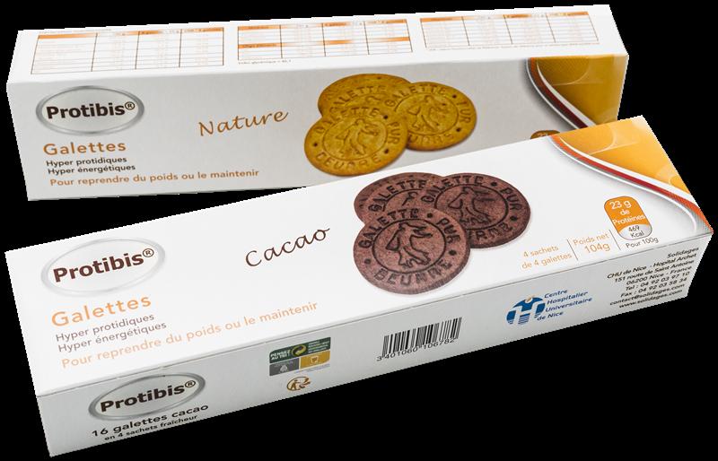 Biscuits protidis destinés à la prise en charge de la dénutrition chez les seniors