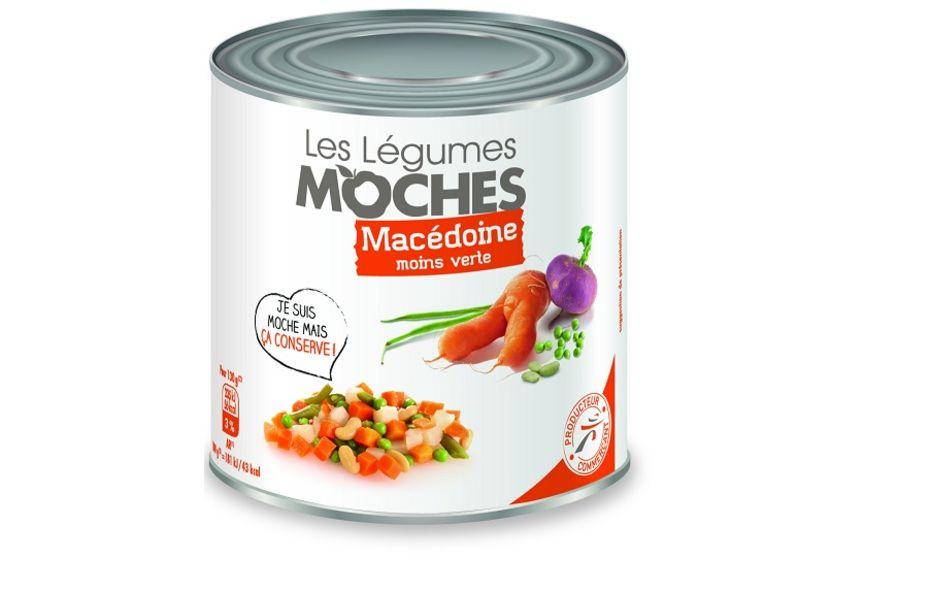 légumes moches en conserves