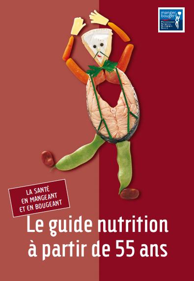 Guide PNNS Nutrition à partir de 55 ans