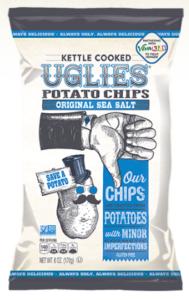 chips issus de pommes de terre moches