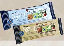 Barres anti-aging riche en antioxydants destinées aux seniors