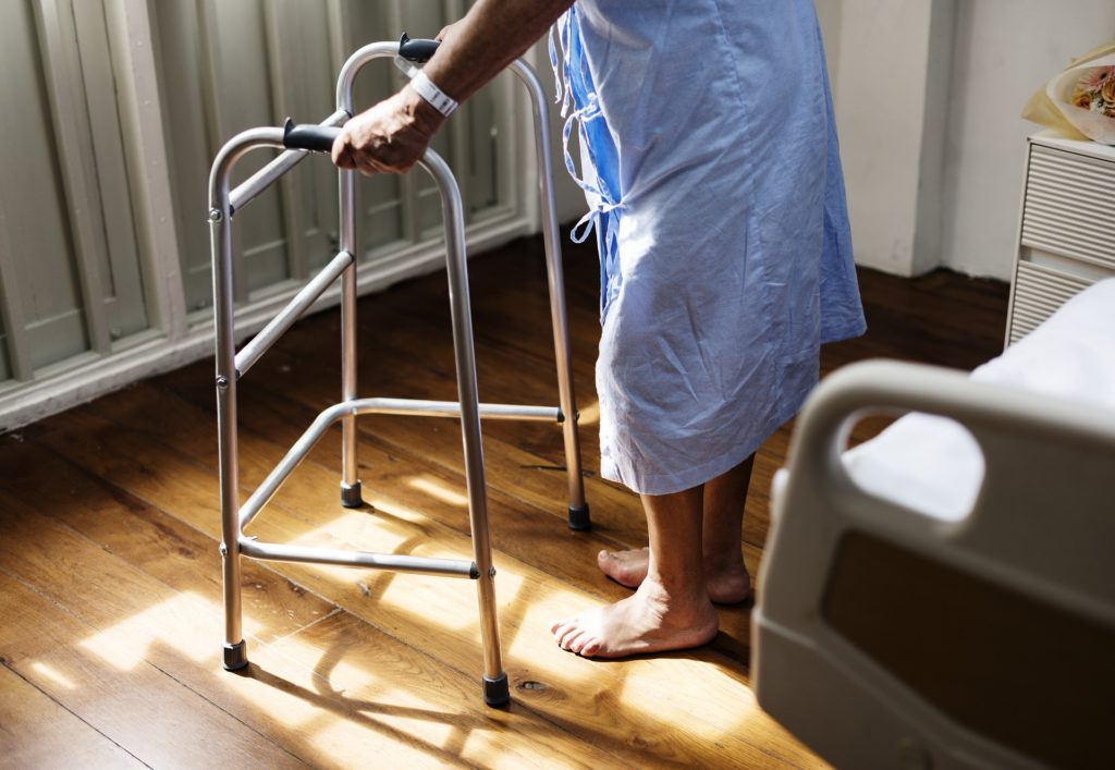 Seniors âgés et dépendance