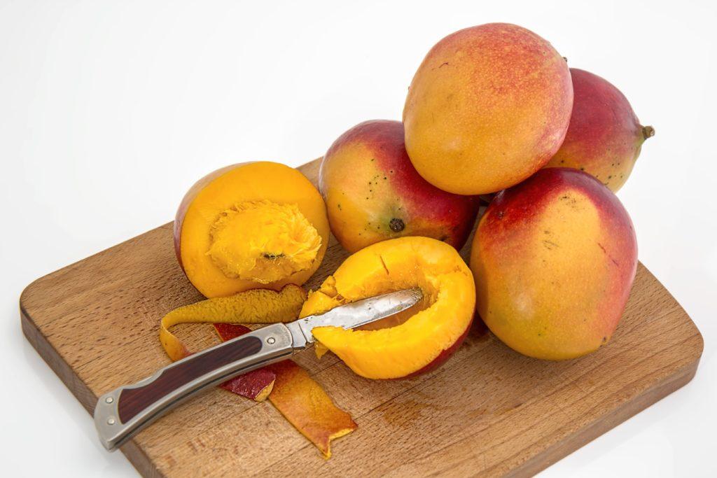 noyau de mangue pour produire des ingrédients cosmétiques