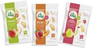 fruits déshydratés produits à partir de fruits déclassés