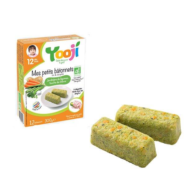 Bâtonnets de légumes Yooji