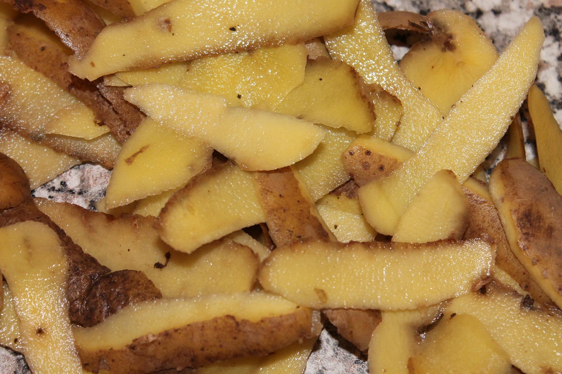 Epluchures de pommes de terre